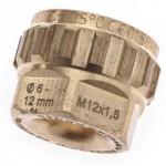 Laser engraved metal component