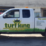 TurfKingWindowDecal